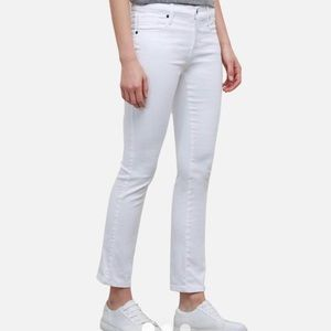KENNETH COLE REACTION White Boyfriend Jeans